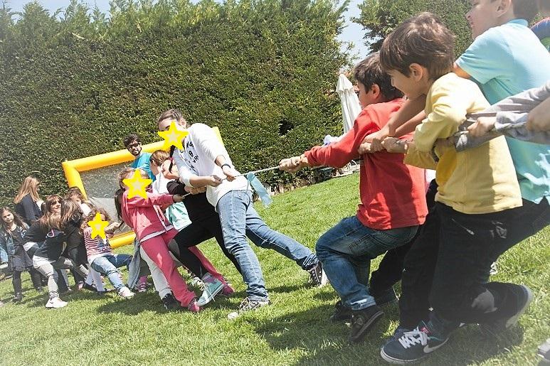 Παιχνίδι για παιδικά πάρτυ Διελκυνστίδα