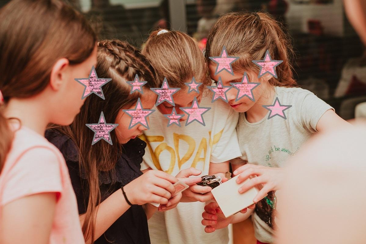 Παιδικό πάρτυ με μεταφερόμενο ESCAPE ROOM (αρχείο ΔΕΛΦΙΝΑΚΙΑ)
