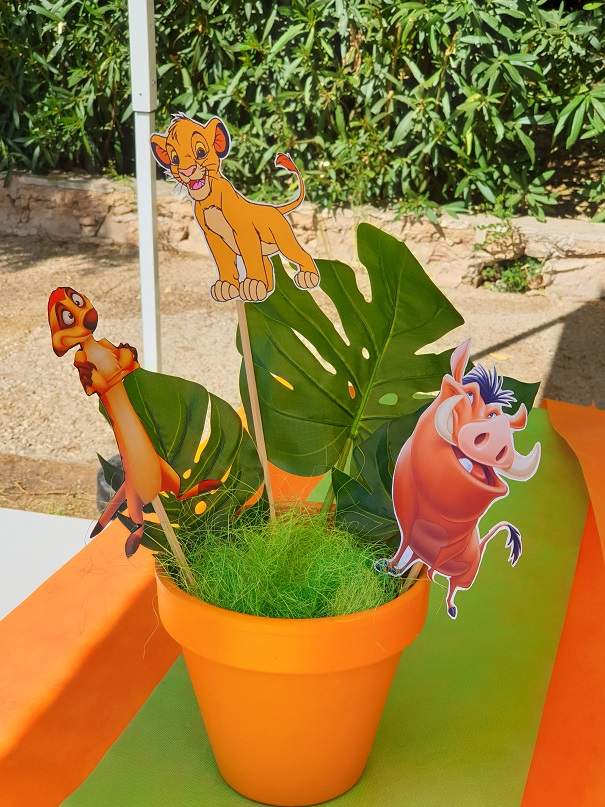 Lion King Kids Party 8