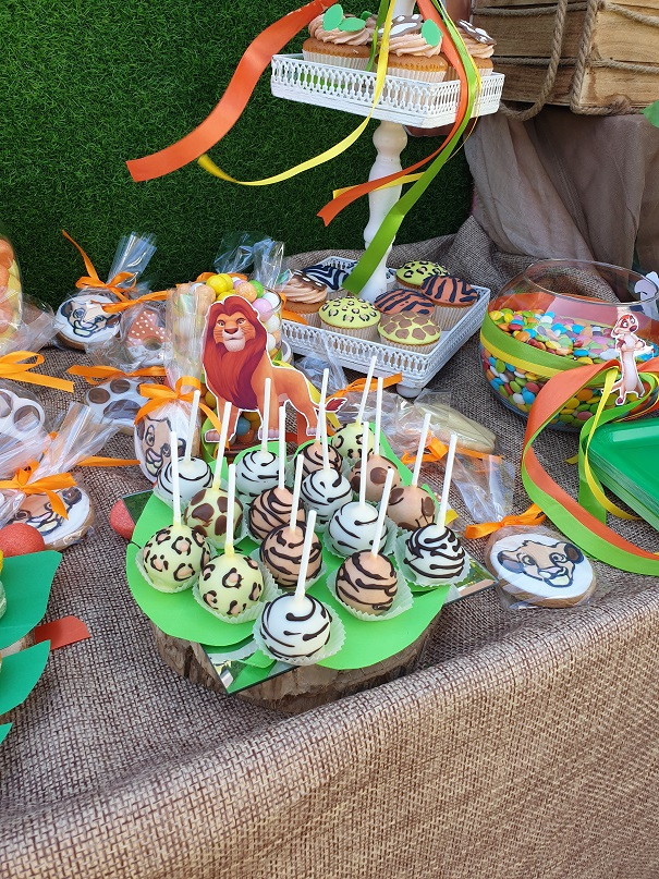 Lion King Kids Party 6