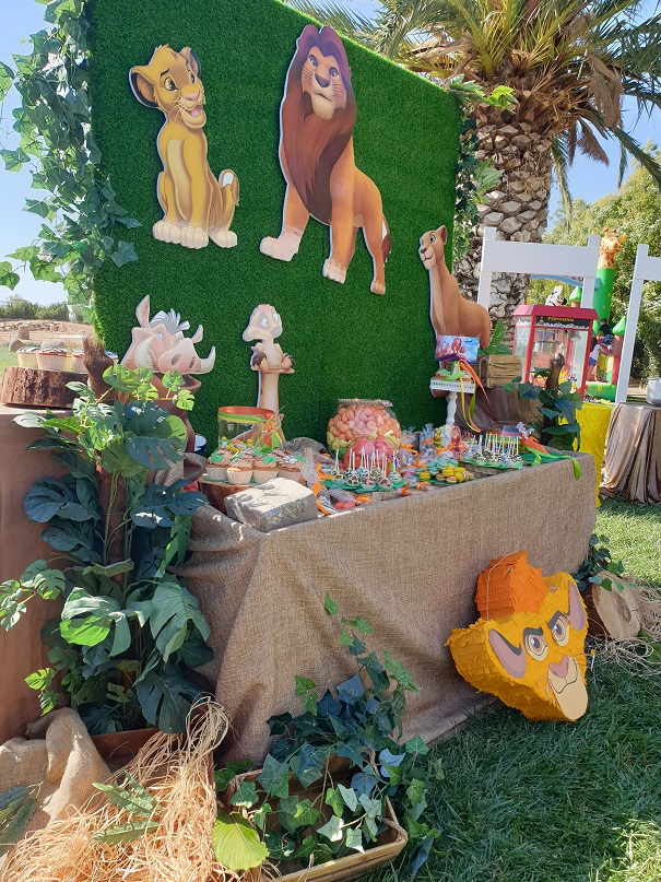 Lion King Kids Party 9