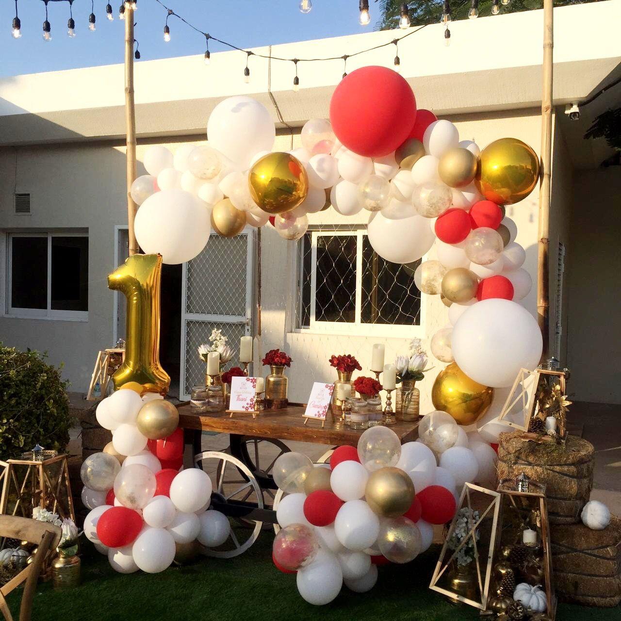 Χριστουγεννιάτικη σύνθεση με μπαλόνια CHRISTMAS ORGANIC 2