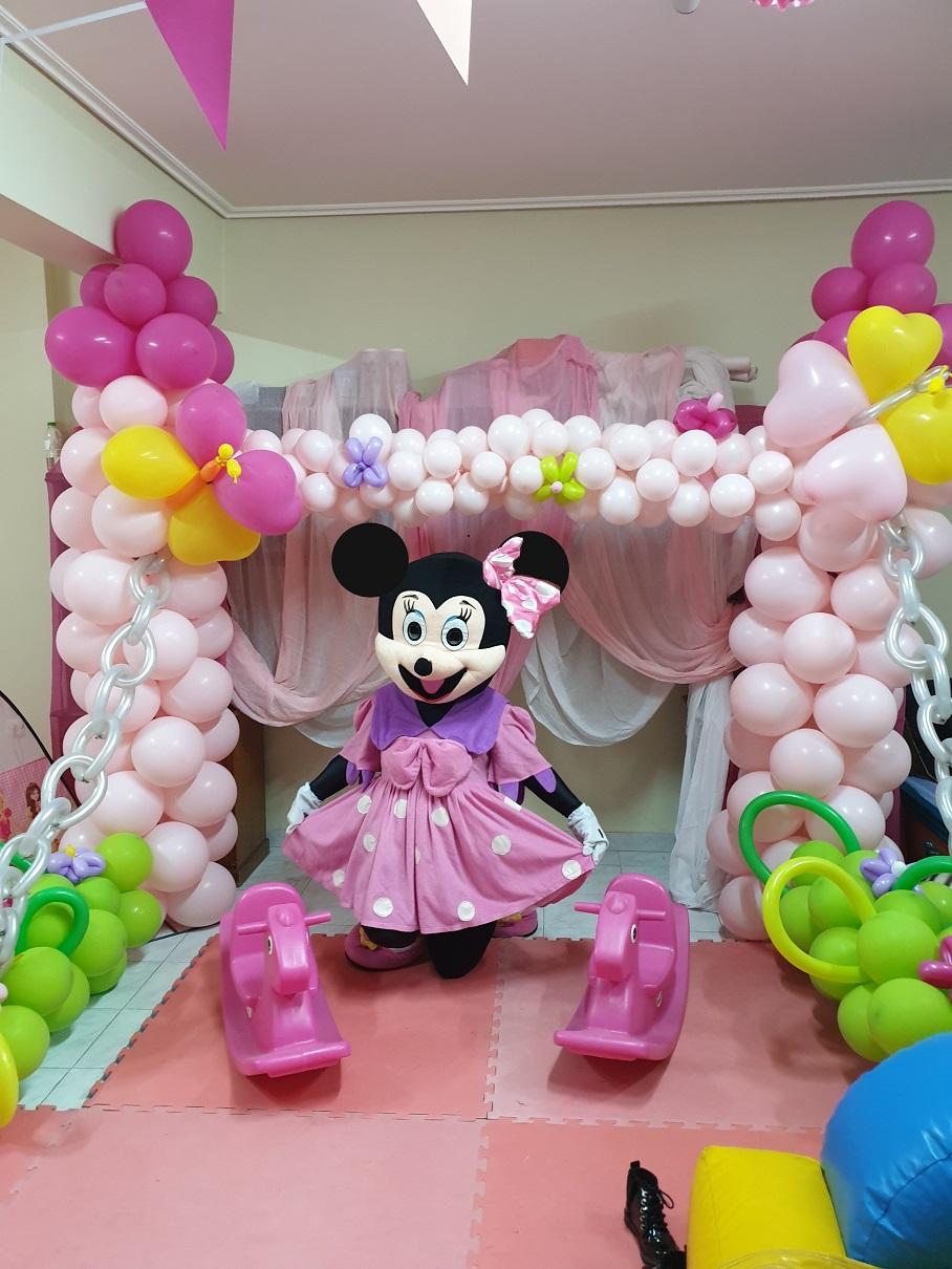 Μπαλόνια διακόσμησης για πάρτυ με θέμα Μίνυ (αρχείο ΔΕΛΦΙΝΑΚΙΑ)