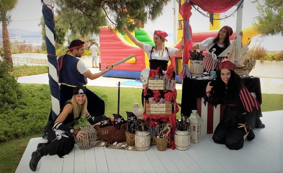 Παιδικό πάρτυ ΠΕΙΡΑΤΕΣ ΤΗΣ ΑΡΙΘΜΗΤΙΚΗΣ (από το αρχείο μας)