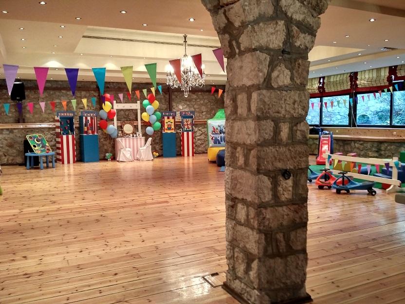 Παιδικό πάρτυ με θέμα ΤΣΙΡΚΟ (αρχείο ΔΕΛΦΙΝΑΚΙΑ)
