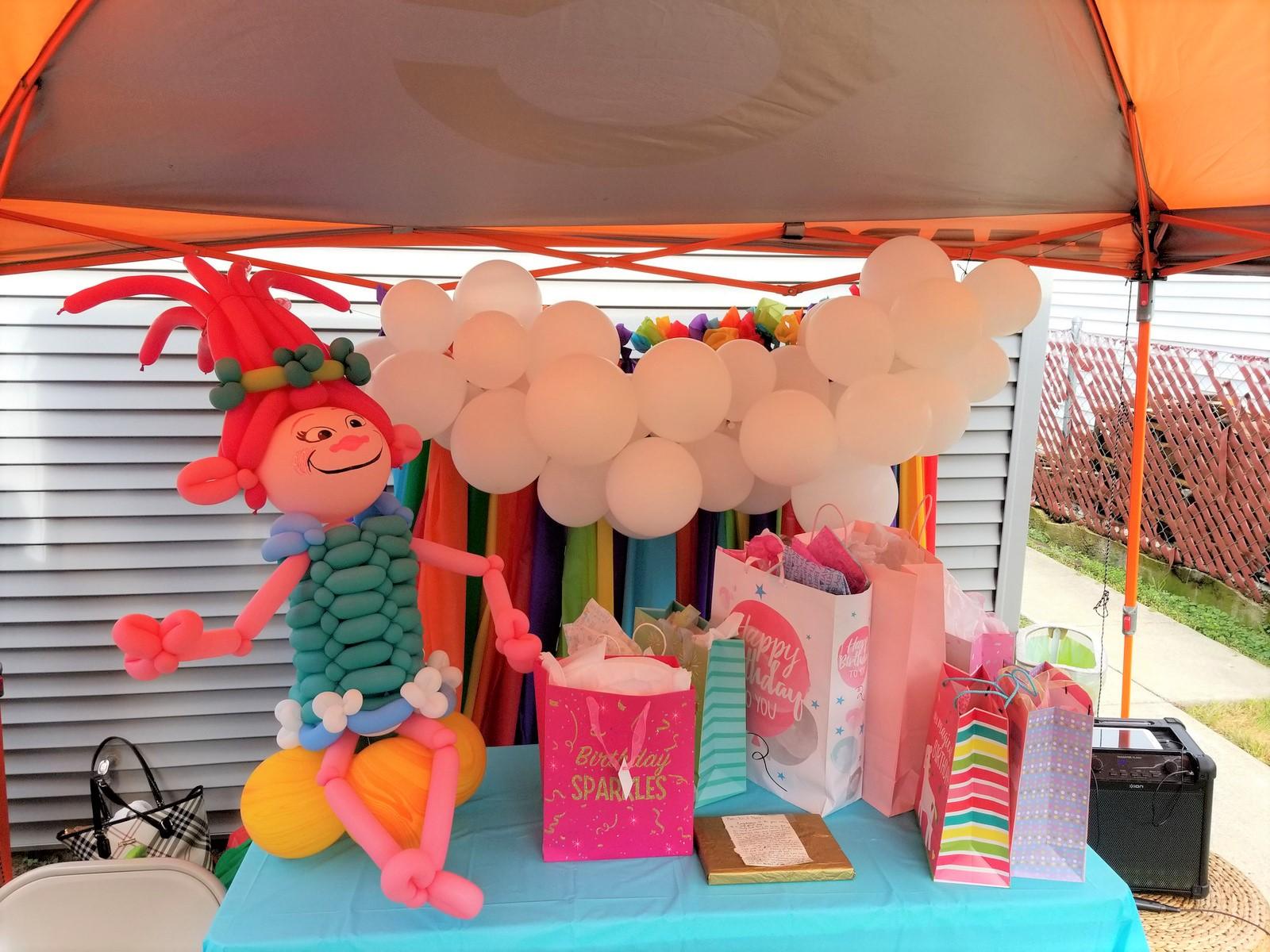 Παιχνίδια για πάρτυ : Κιόσκι Μπαλονοκατασκευών