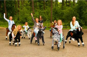 Παιχνίδια για πάρτυ : Βόλτα με αλογάκια