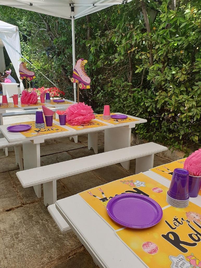 Παιδικά επιπλάκια για φαγητό με θεματική διακόσμηση