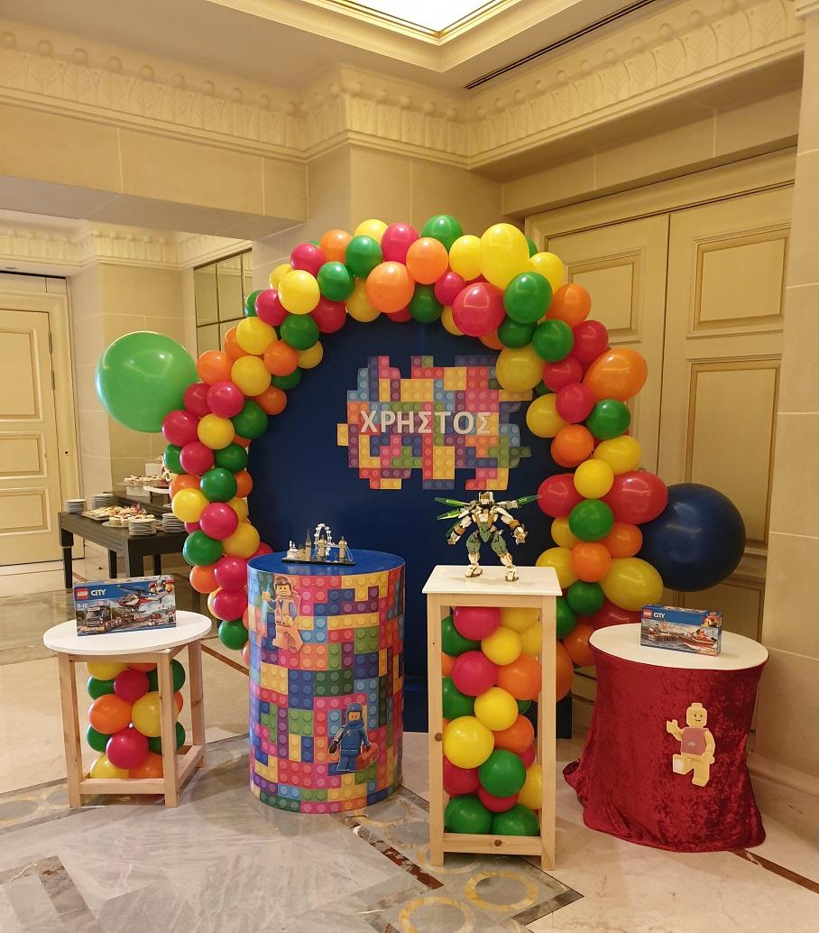 Candy bar σύνθεση :  Lego Party