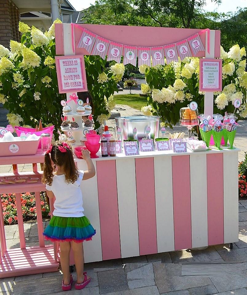Κιόσκι Candy Bar ροζ