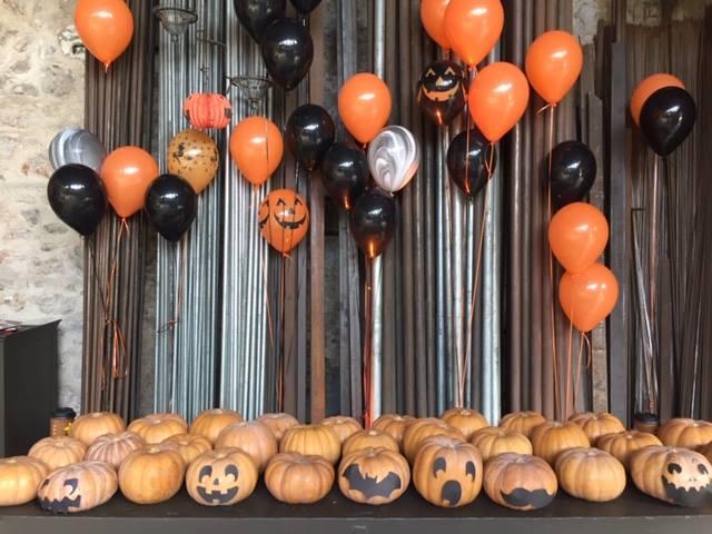 Μπαλόνια για πάρτυ με ήλιον HALLOWEEN