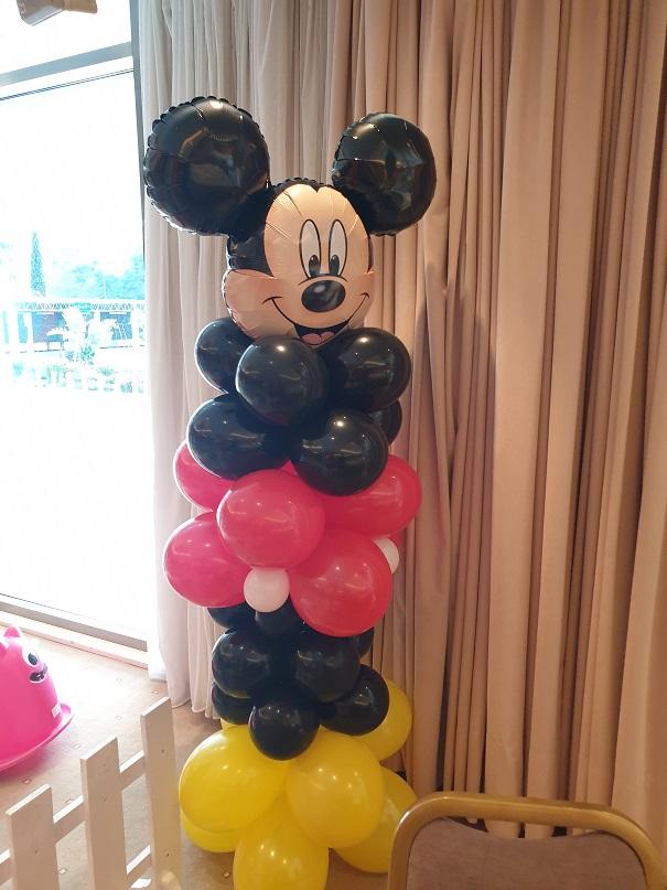 Μπαλόνια για πάρτυ : ΜΠΑΛΟΝΟΣΤΗΛΗ ΜΙΚΥ αυτοστηριζόμενη