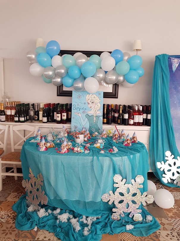 Candy bar στην εκκλησία ή στο πάρτυ ROUND FROZEN
