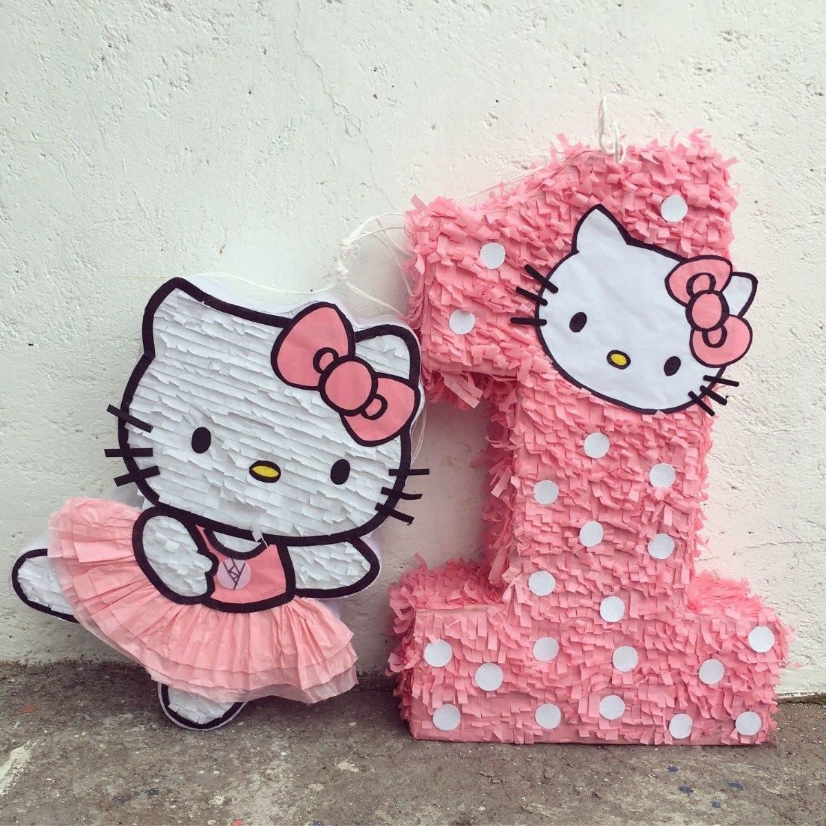 Πινιάτα Pink Γατούλα για παιδικό πάρτυ
