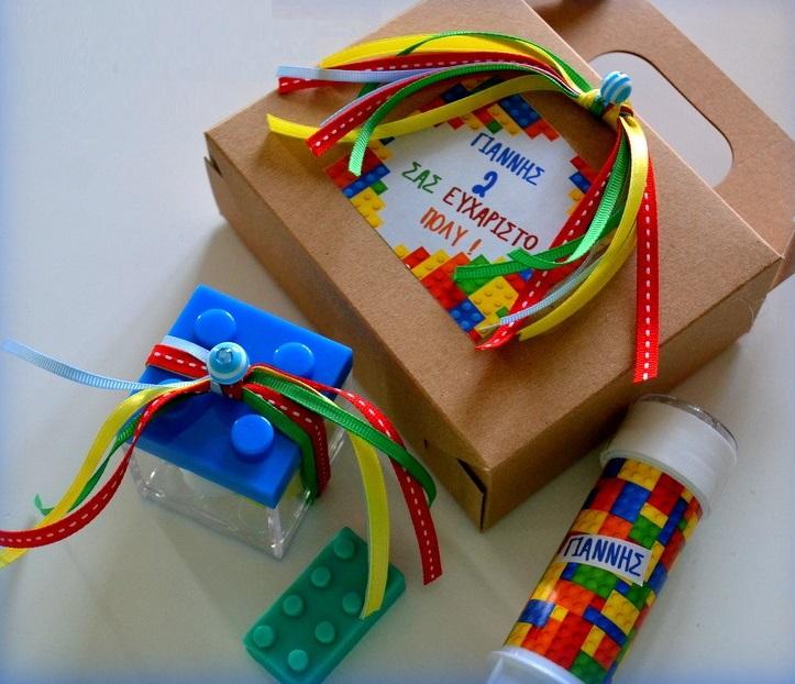 Δωράκι για παιδικό πάρτυ ή βάπτιση : LUNCHBOX με μικροδωράκια
