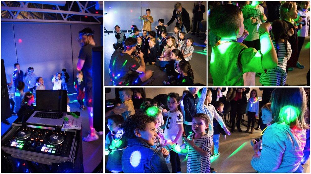 Disco κλόουν για παιδικό πάρτυ