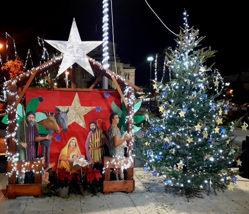 Διοργάνωση χριστουγεννιάτικου χωριού ΑΙΓΑΛΕΩ 2019