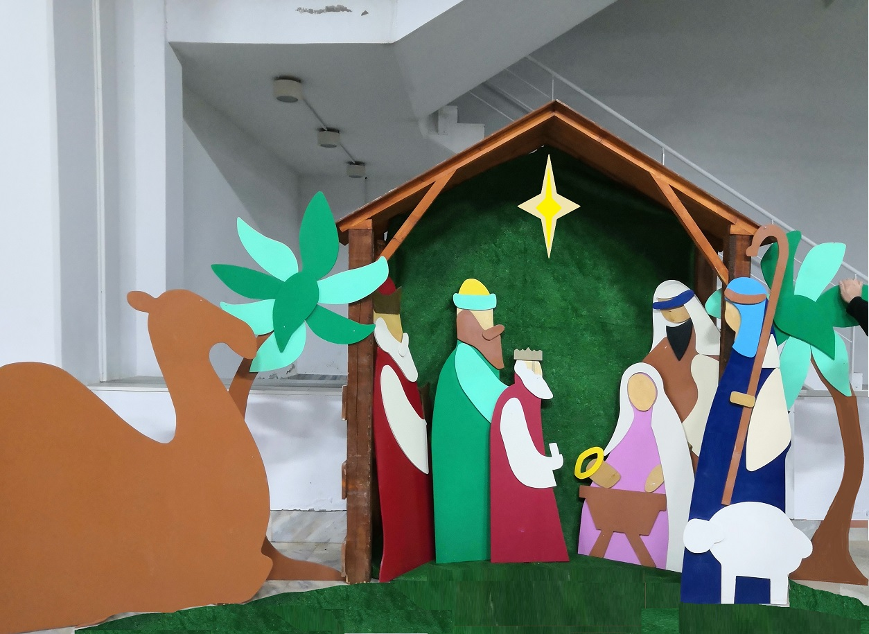 Χριστουγεννιάτικη Φάτνη με Μάγους