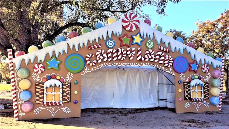 Διακοσμητική πύλη gingerbread