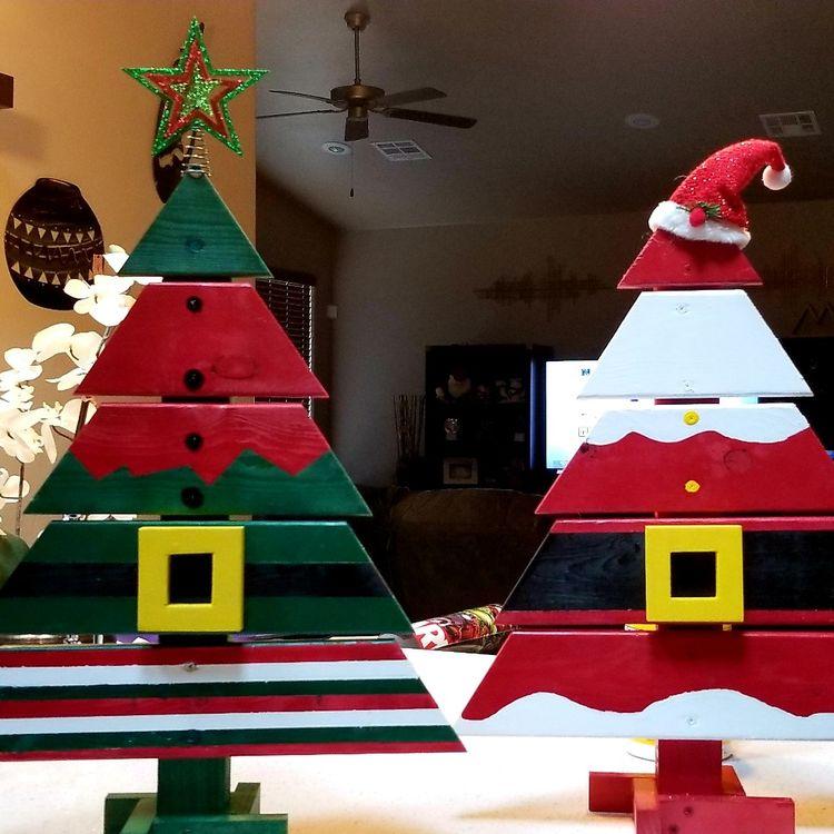 Χριστουγεννιάτικα δέντρα χαρακτήρων