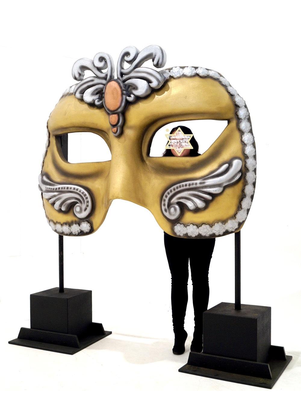 Διακοσμητική Μάσκα με βάσεις