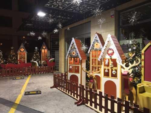 Χριστουγεννιάτικα Διακοσμητικά Σπιτάκια