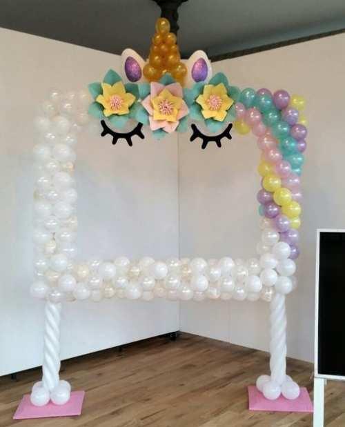 Κορνίζες από μπαλόνια