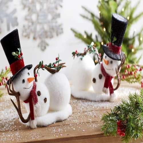 Χριστουγεννιάτικές Διακοσμητικές Φιγούρες