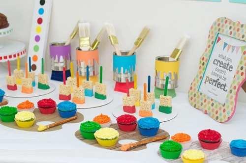 Γλυκά για Παιδικό Πάρτυ