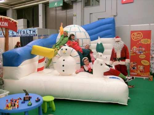 Χριστουγεννιάτικα Φουσκωτά Παιχνίδια