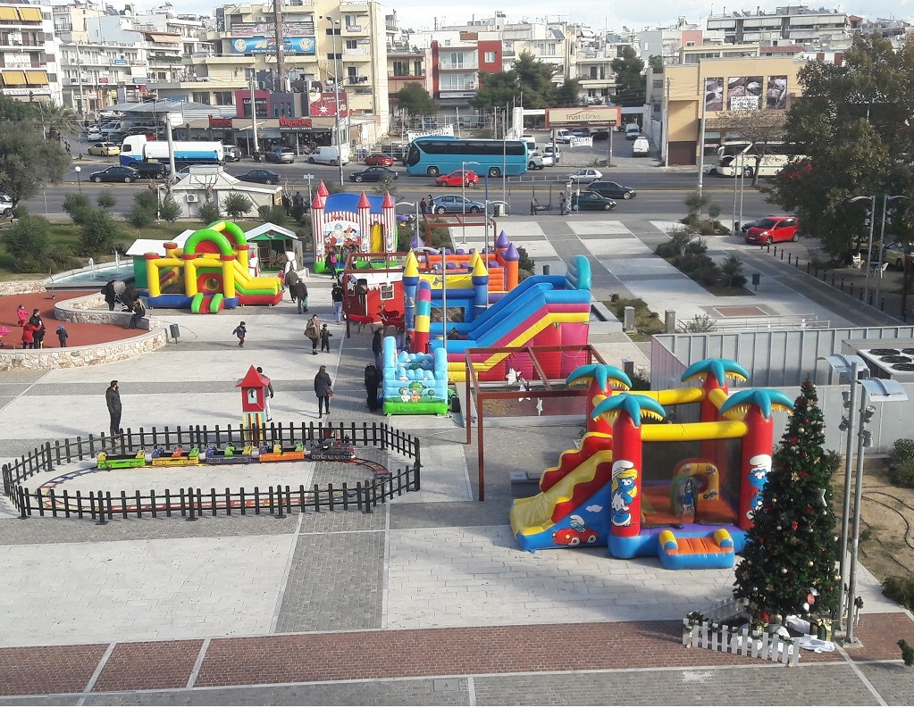 Διοργάνωση χριστουγεννιάτικου χωριού ΧΑΙΔΑΡΙ 2016