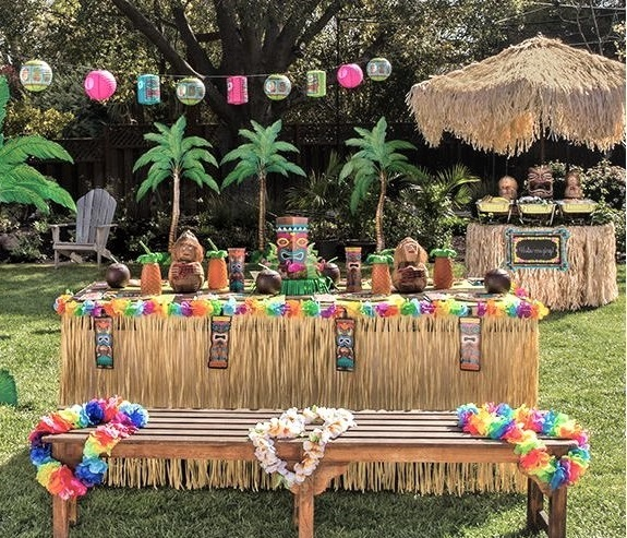 Candy bar στην εκκλησία ή στο πάρτυ TROPIC