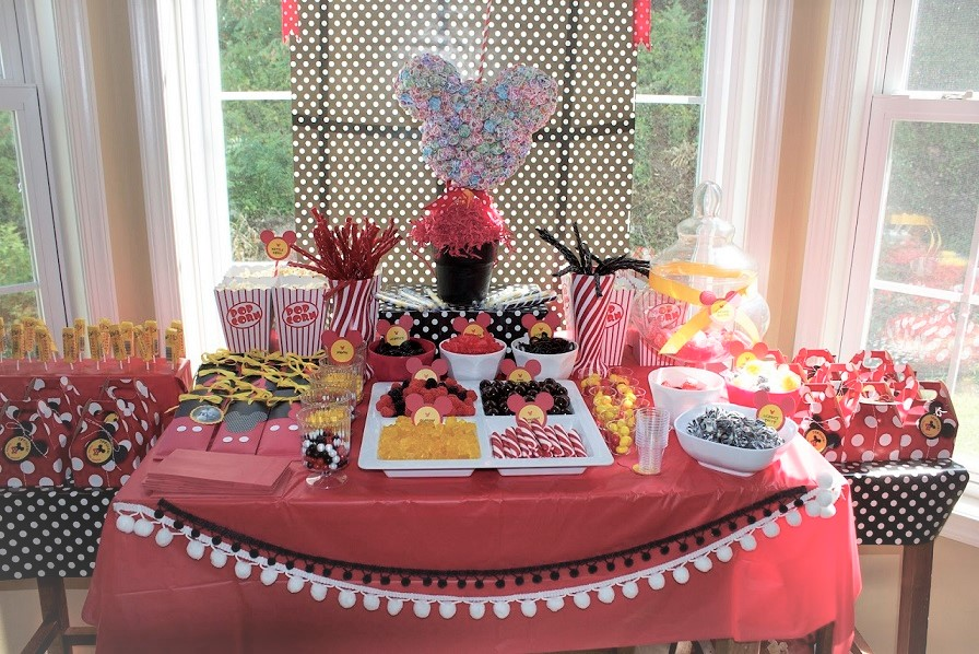 Candy Bar στην εκκλησία ή στο πάρτυ ΜΙΚΥ