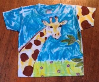 Ζωγραφική σε μπλουζάκια