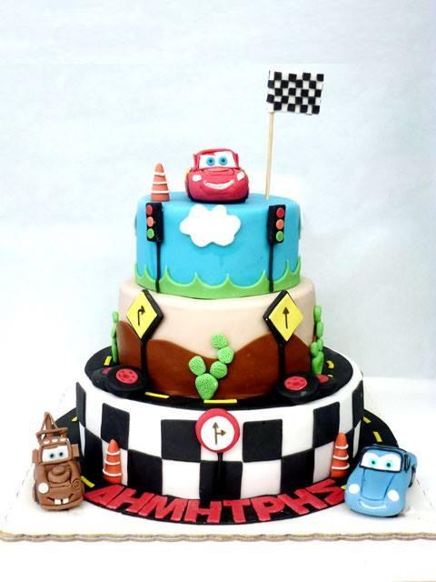 Τούρτα race 1 για παιδικό πάρτυ