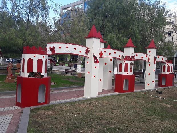 Κόκκινοι πύργοι σετ