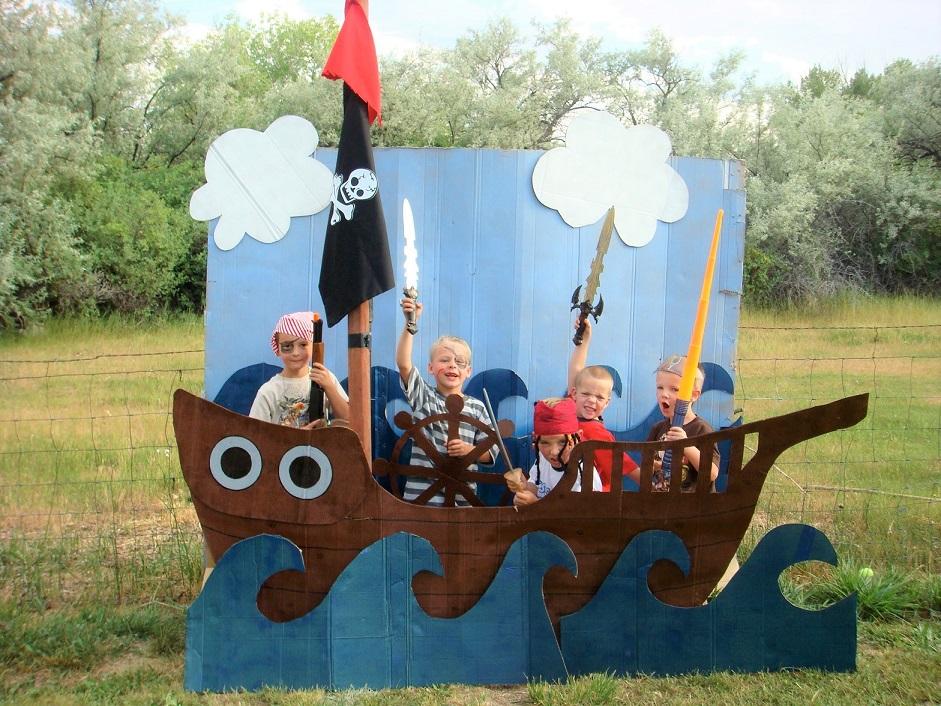 Πειρατές backdrop