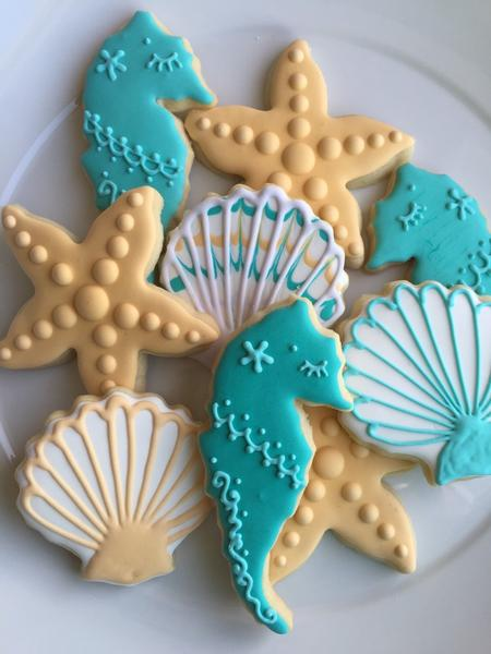 Μπισκότα ΒΥΘΟΣ για βάπτιση και παιδικό πάρτυ