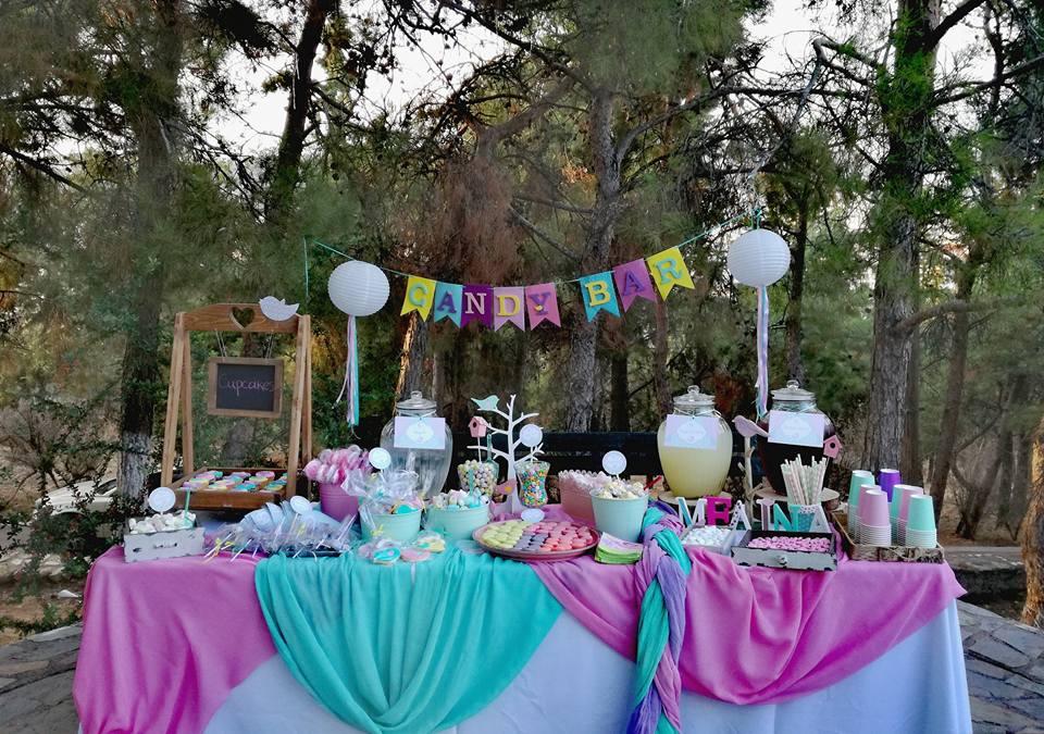 Candy bar στην εκκλησία ή στο πάρτυ ΠΟΥΛΑΚΙ