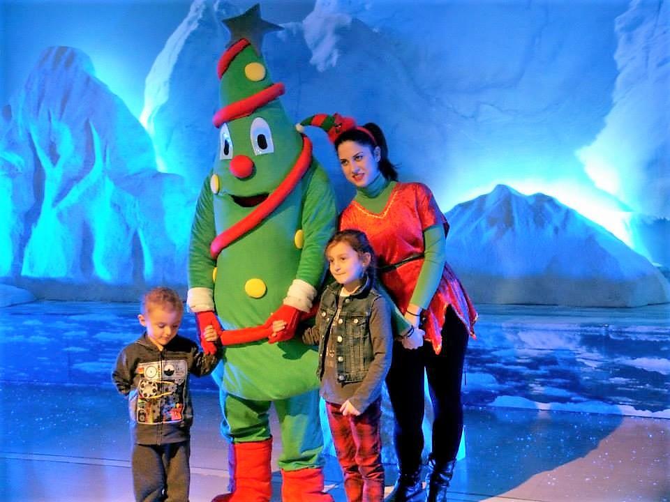 Μασκότ Χριστουγεννιάτικο δέντρο λουξ