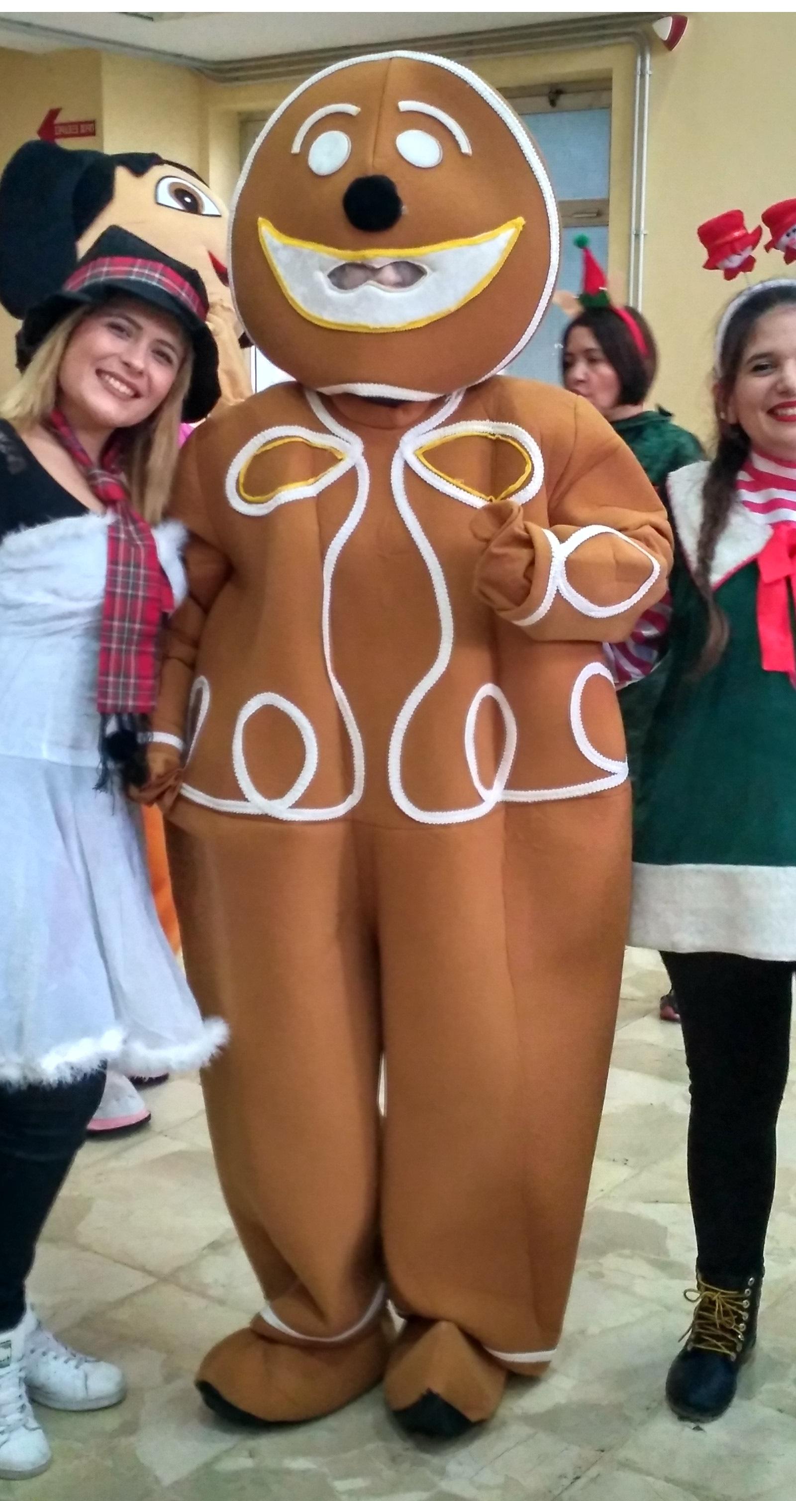Μασκότ Gingerbread