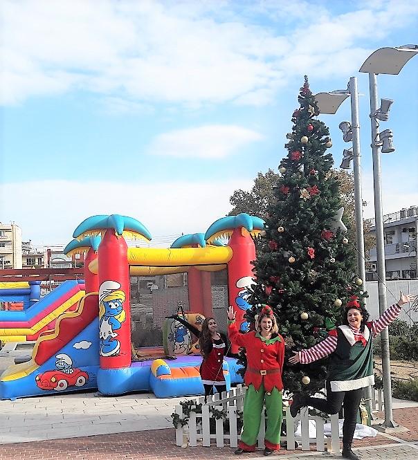 Χριστουγεννιάτικο Χωριό 1