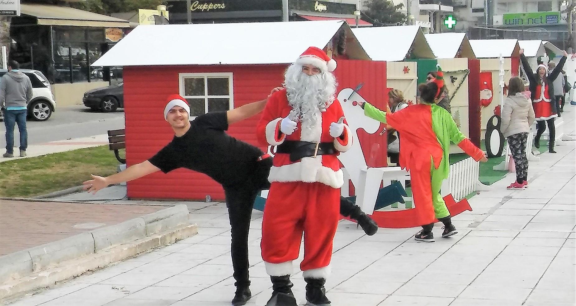 Διοργάνωση χριστουγεννιάτικου χωριού ΓΕΡΑΚΑΣ 2016