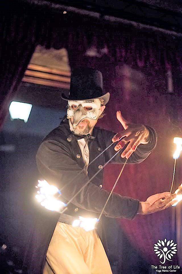 Fire Dance by Cirque Musical
