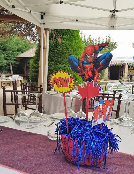 SPIDERMAN παιδικό πάρτυ στο Polo Club ! 3