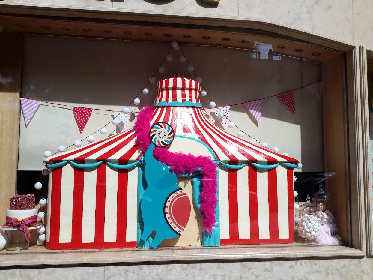 Διακοσμητική Σκηνή Τσίρκου
