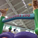 Φουσκωτό Παιχνίδι Parcoor Zoo Φ79 3