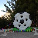 Φουσκωτός Στόχος  Football Target Φ85 2