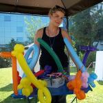 Κιόσκι με μπαλονοκατασκευές 3