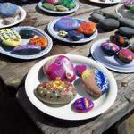 Εργαστήριο : Ζωγραφική σε πέτρα 2